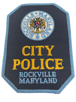 ROCKVILLE MD POLICE PATCH