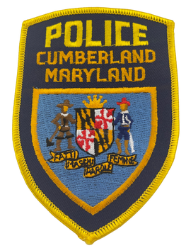 CUMBERLAND MD POLICE PATCH