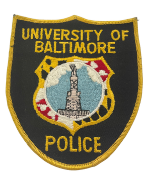 UNIV OF BALTIMORE MD POLICE PATCH