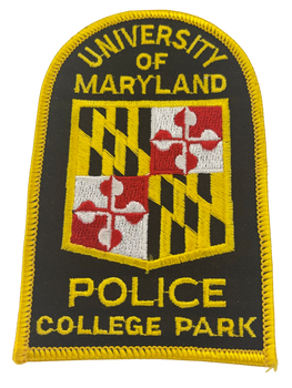 UNIV OF MARYLAND MD COLLEGE PARK POLICE PATCH