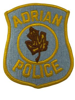 ADRIAN POLICE MI PATCH