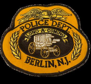 BERLIN POLICE NJ #2 PATCH