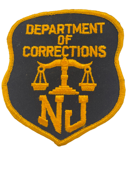 NEW JERSEY DEPT OF CORRECTIONS NJ PATCH