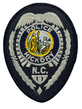 HICKORY POLICE NC BADGE PATCH