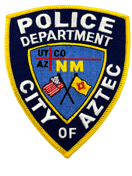 AZTEC POLICE NM PATCH