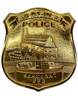 SYRACUSE NY POLICE SERGEANT 150TH ANNIV BADGE 1998