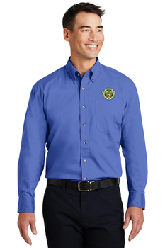 Clay Sheriff Port Authority® Long Sleeve Twill Shirt