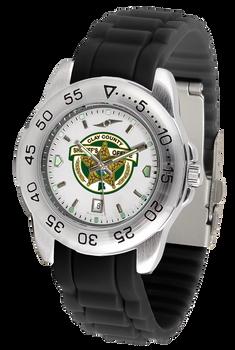 Clay Sheriff Fantom Silicone Watch - Silver