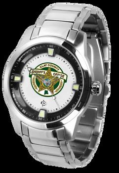 Clay Sheriff Titan Steel Watch