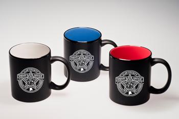 Clay Sheriff Mondrian Mug