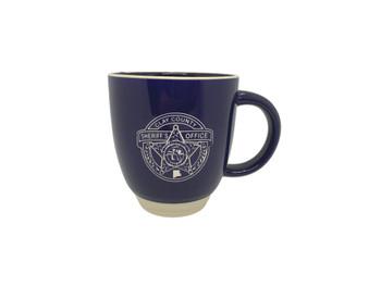 Clay Sheriff Sunrise Mug Blue
