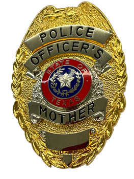 TEXAS POLICE OFFICERS MOTHER