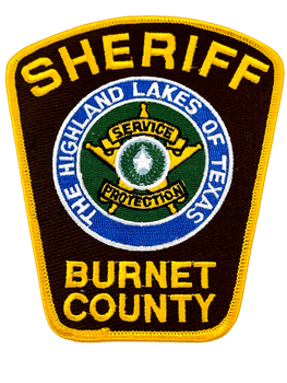 BURNET COUNTY SHERIFF TX PATCH