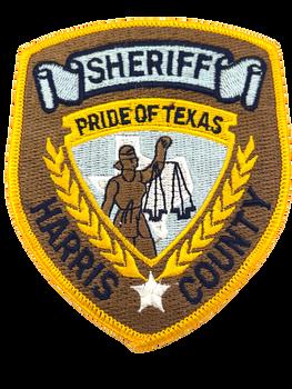HARRIS COUNTY SHERIFF TX PATCH