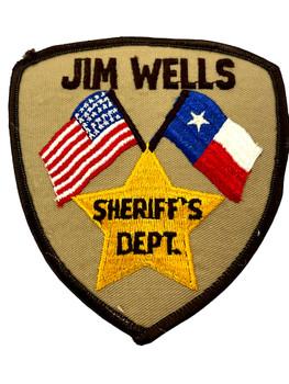 JIM WELLS COUNTY SHERIFF TX PATCH