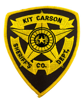 KIT CARSON COUNTY SHERIFF TX PATCH