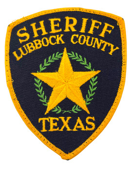 LUBBOCK COUNTY SHERIFF TX PATCH 2