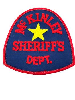 McKINLEY COUNTY SHERIFF TX PATCH