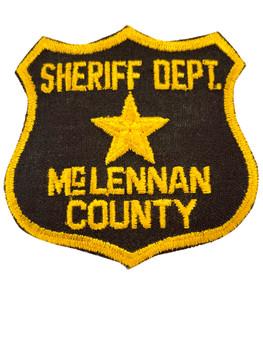 McLENNAN COUNTY SHERIFF TX PATCH