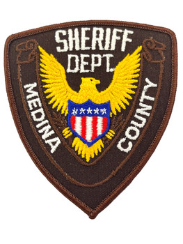 MEDINA COUNTY SHERIFF TX PATCH