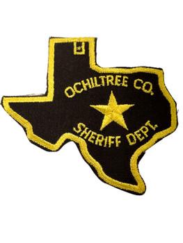 OCHILTREE COUNTY SHERIFF TX PATCH