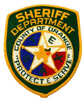 ORANGE COUNTY SHERIFF TX PATCH