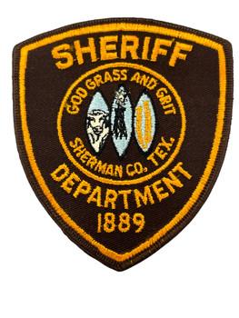 SHERMAN COUNTY SHERIFF TX PATCH