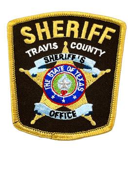 TRAVIS COUNTY SHERIFF TX PATCH