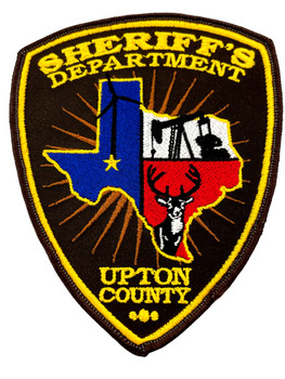 UPTON COUNTY SHERIFF TX PATCH