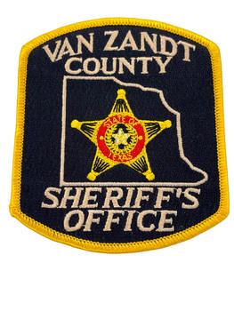VAN ZANDT  COUNTY SHERIFF TX PATCH