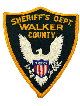 WALKER COUNTY SHERIFF TX PATCH
