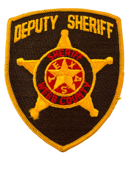 WEBB  COUNTY DEPUTY SHERIFF TX PATCH