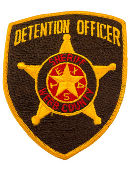 WEBB  COUNTY SHERIFF TX DETENTION PATCH