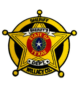 WILLACY  COUNTY SHERIFF TX DETENTION PATCH