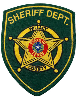WILLACY  COUNTY SHERIFF TX GREEN PATCH