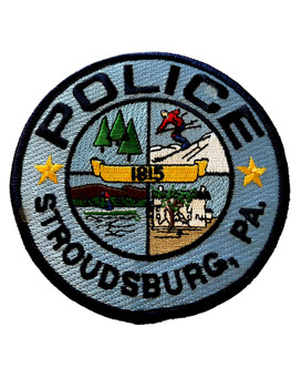 STROUDSBURG POLICE PA  PATCH