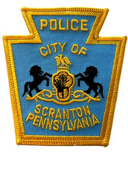SCRANTON POLICE PA  PATCH