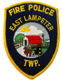 EAST LAMPETER TWP FIRE POLICE PA  PATCH