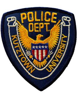 KUTZTOWN UNIVERISTY POLICE PA  PATCH