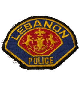 LEBANON POLICE PA  PATCH
