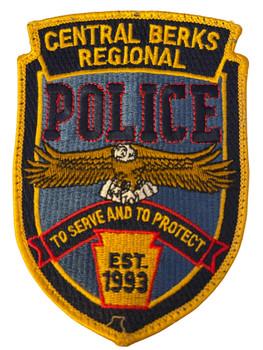 CENTRAL BERKS REGIONAL  POLICE PA  PATCH