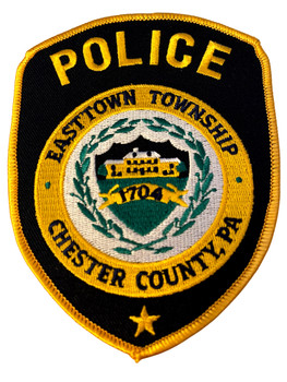 EASTTOWN POLICE PA PATCH