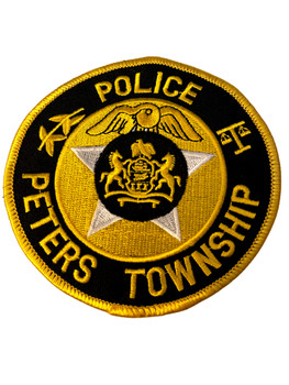 PETERS TWP POLICE PA PATCH