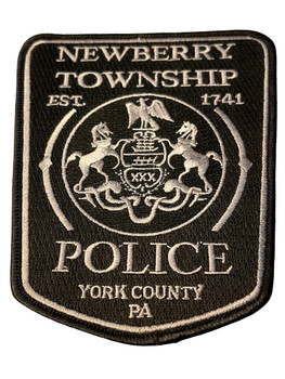 NEWBERRY TWP  POLICE PA BLACK PATCH