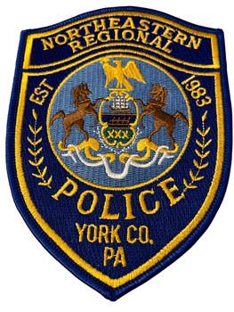 NORTHEASTERN REGIONAL POLICE PA PATCH