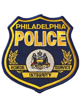 PHILADEPHIA  POLICE PA BLUE PATCH