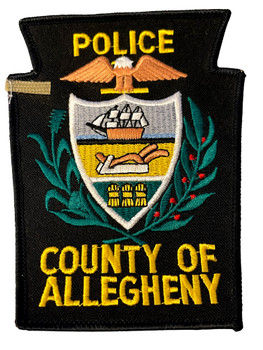 COUNTY OF ALLEGHANY POLICE PA PATCH