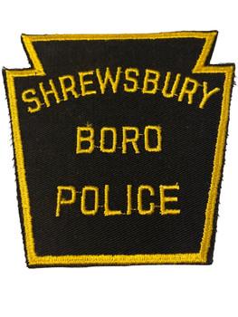 SHREWSBURY BORO POLICE PA PATCH