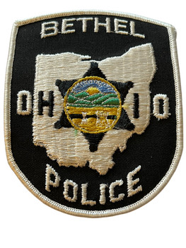 BETHEL OH POLICE BADGE PATCH FREE SHIPPING!