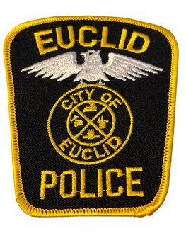 EUCLID  OH POLICE BADGE PATCH FREE SHIPPING!